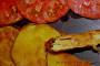 Calabacines rellenos y empanados