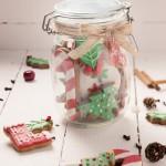 Bote de galletas navideñas decoradas de Wannacake