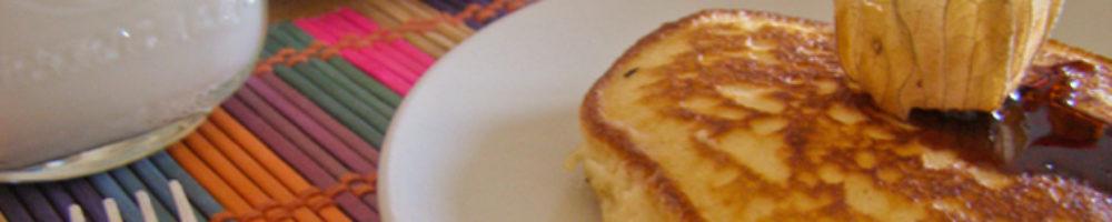 Receta fácil de tortitas caseras