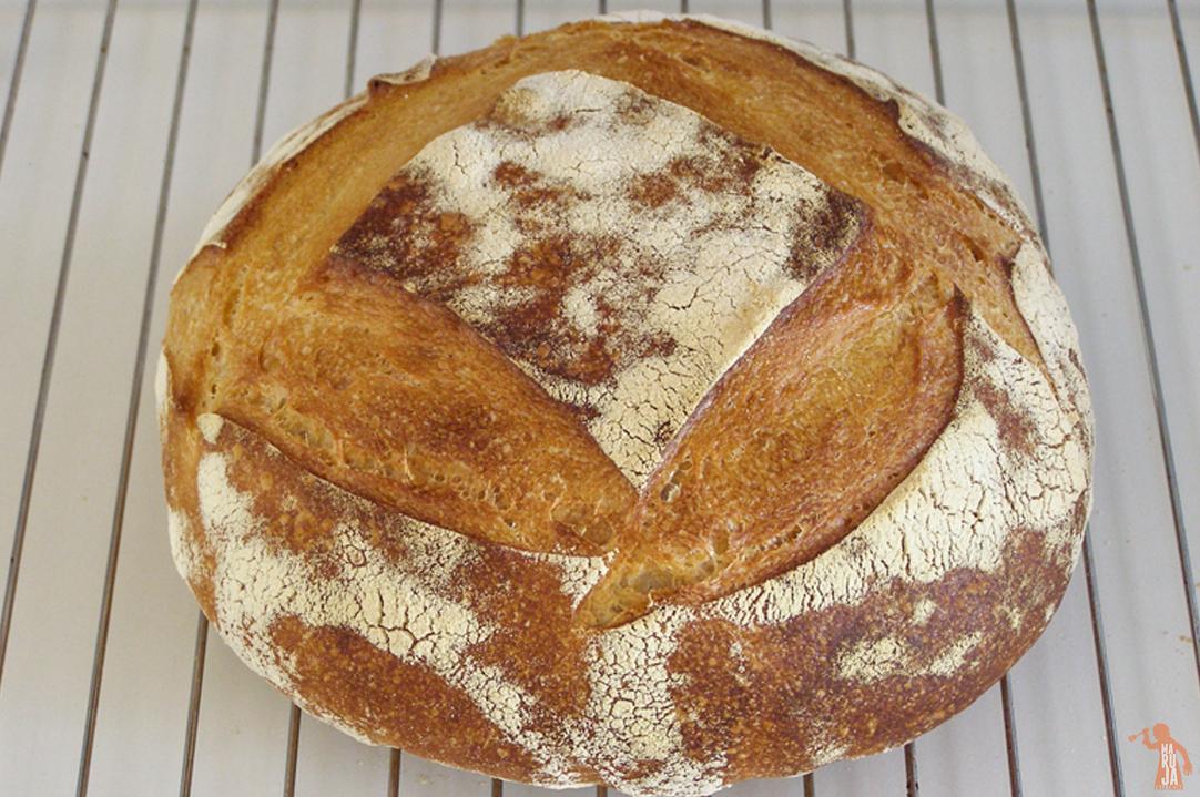 Paso 9: Pan con masa madre natural